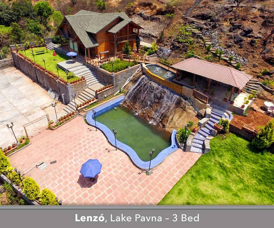luxury villa in pavna with pool